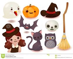 collection of cute halloween icon stock illustration image 51433356
