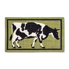 Green Kitchen Rugs Green Cow Kitchen Rug 20