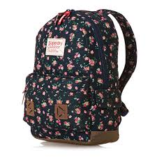 Montana travel pouch images Superdry stem floral montana backpack navy back to school jpg