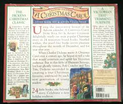 charles dickens a carol story book set advent