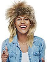 Ike Tina Turner Halloween Costumes Amazon Tina Turner Costume Wig Sepia Wigs Color 1b 12