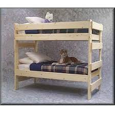 Bunk Beds The Premier Solid Wood Bunk Bed  Lbs Wt Capacity - Solid wood bunk beds