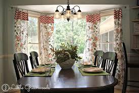 Diy Kitchen Curtain Bay Window Kitchen Curtains Ideas Mellanie Design