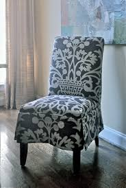 slipcovered parson s chair design by elisha howell fabrication