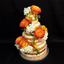 Fall Flowers For Wedding Wedding Cake With Fresh Flowers For A Fall Wedding Imgur