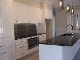 Black White Kitchen Ideas by White Kitchen Black Benchtop With Design Picture 71435 Kaajmaaja