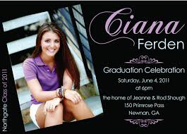 senior graduation announcement templates invitations 10 simple graduation invitation templates