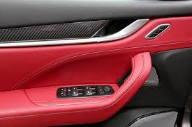 maserati truck red interior maserati levante