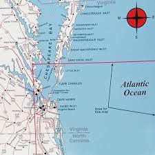 map of virginia and carolina spot map n244 virginia carolina offshore