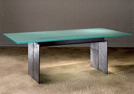 Glass Top Pedestal Dining Tables Glass Top Dining Table Modern Steel And Glass Dining Tables