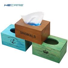 online buy wholesale wooden box tissue holder from china wooden