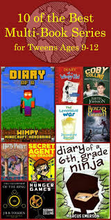 best books for tweens ages 9 12 book series and books