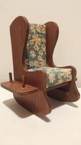 Wooden Rocking Chairs by 99 Best Pincushion Rocking Chair Images On Pinterest Rocking