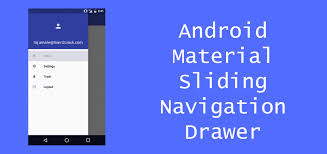 android toolbar tutorial android material design sliding navigation drawer
