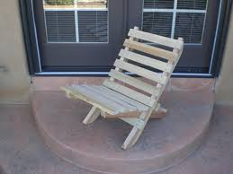 outdoor folding chair wood plans
