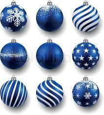 light blue gemstone name set of realistic blue christmas balls stock vector colourbox