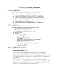 Ged Worksheets Resume Ged Resume For Your Job Application