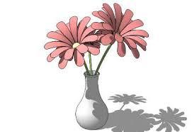 3d Flower Vase Sketchup Components 3d Warehouse Flower