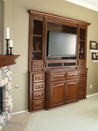 bedroom living room marvelous design idea with brown tv cabinet