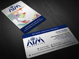 Singapore Business Cards 75 Professional Freight Forwarding Business Card Designs For A