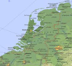 netherlands map cities travel maps of amsterdam and netherlands