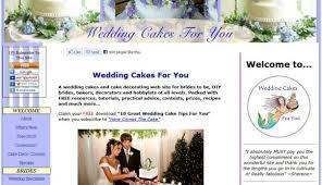 wedding cake websites best cake decorating websites high five