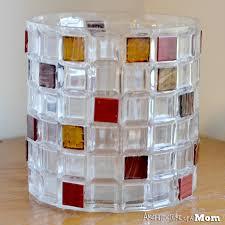 Florist Vases Architecture Of A Mom Glass Tile Embellished Vase For Fall