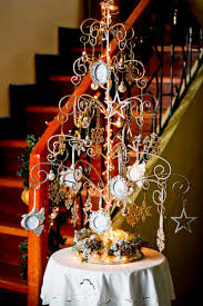 christmasree shape wrought iron ornaments craft wind