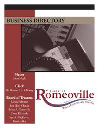 romeoville business phonebook by village of romeoville issuu