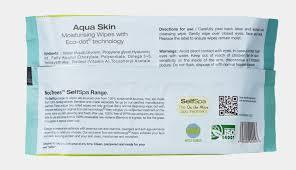 special promo 2 x selfspa 100 bamboo wipes aqua skin cleanse