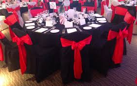 black chair covers chair cover hire sash bows hire wedding table swagging venue