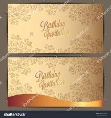 Invitation Card Background Design Happy Birthday Card Background Design Stock Vector 476466208