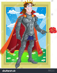 Prince Charming by Prince Charming Armour Give Flover On Stock Illustration 52973614
