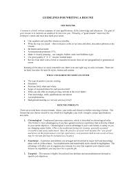 Best Resume In 2017 by Resume Guidelines The Best Resume