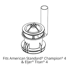 Eljer Tank Korky 450bp Flush Valve Seal For American Standard And Eljer