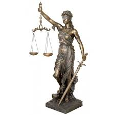 lady justice life size bronze resin goddess statue 6 feet tall