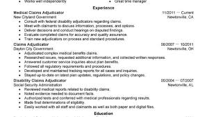 Medical Claims Processor Resume Medical Claims Resume Examples Adjudicator Cover Letter Claims
