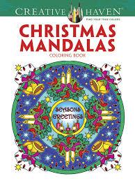 christmas tree mandala coloring