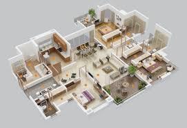 3d apartment floor plans wohndesign exquisit 3 bedroom 3d floor plan wohndesign 3 bedroom