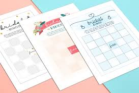bridal shower gift bingo how to play bridal shower bingo with printables shutterfly
