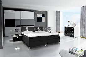 schlafzimmer set weiss hochglanz schlafzimmer set mit boxspringbett rivabox möbel für