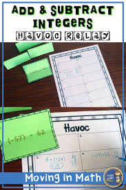 Add Subtract Integers Worksheet Best 25 Subtracting Integers Ideas On Pinterest Adding And