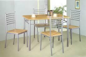 hypnotisant ensemble table et chaise de cuisine lucida eliptyk