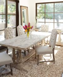 Beautiful Dining Room Tables Features Material Reclaimed Pine Balustrade And Trestle