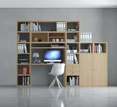Schreibtisch Mit Regal Bürowand Homeoffice Mit Schreibtisch Eiche Natur