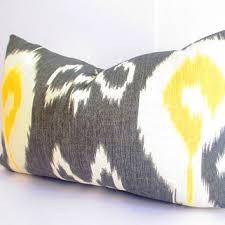 Lumbar Decorative Pillows Shop Ikat Lumbar Pillows On Wanelo