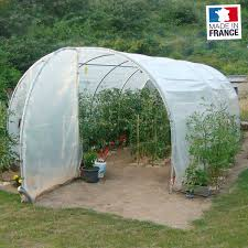 serre tunelle de jardin serre tunnel 3m x 6m avec 2 portes richel serre jardin