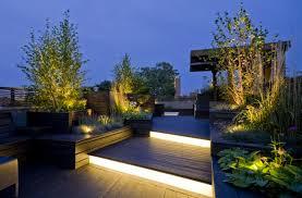 led lights illuminating your yard