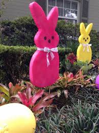 easter rabbit decorations with outdoor area and also yellow