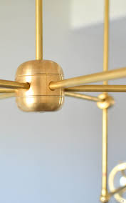 diy sputnik chandelier diy bent arm chandelier u2022 vintage revivals